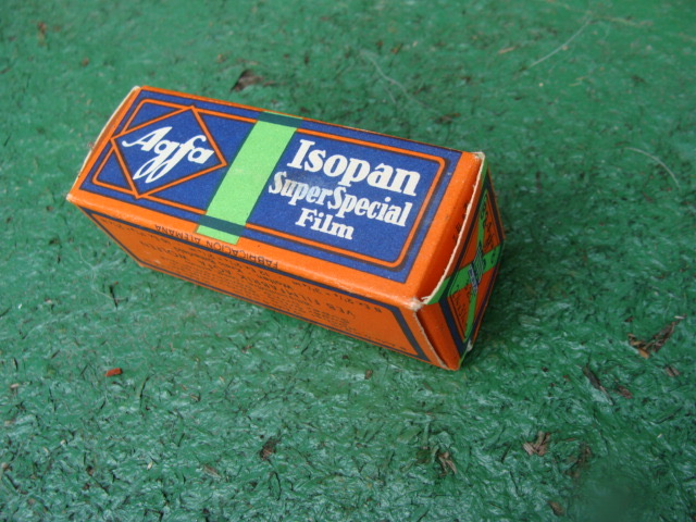 Agfa Isopan superspecial film