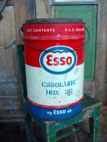 Esso Lube- kanisteri , iso