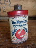 Dr Wernets powder for false teeth